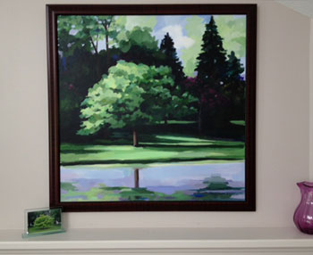 tree painting commission