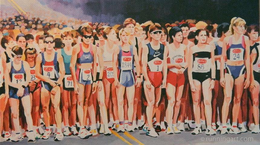 Freihofer's Race Start by artist Coreen Steinbach