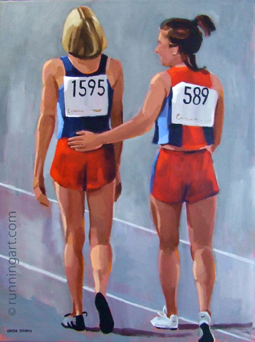 Heart of Competition by artist Coreen Steinbach
