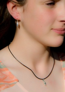 Silver Necklace on Black Velvet051614_1